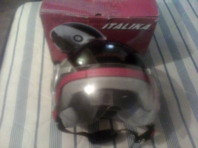 CASCO ITALIKA 3/4 DOT ORIGINAL trueque