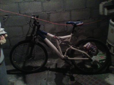 REMATO bicicleta montaña R26 doble suspencion  trueque