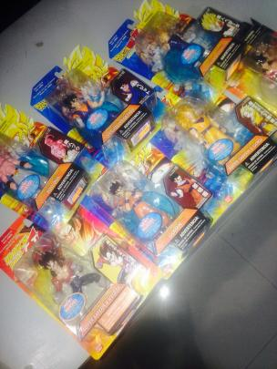 Figuras Dragon Ball Z trueque