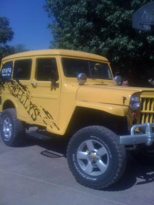JEEP WILLYS trueque