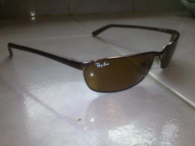 lentes ray ban originales cafe trueque