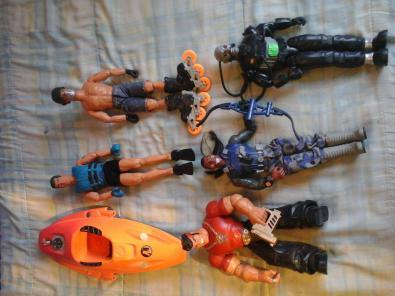 action man y villanos originales  trueque