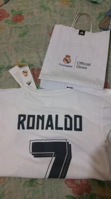 Playera Real Madrid Original trueque