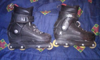 Patines roller agresive  trueque
