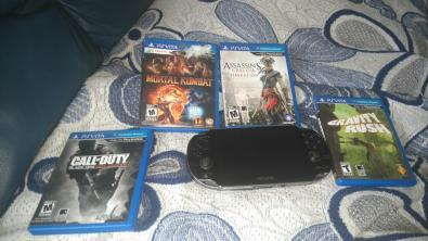 Ps vita edición call of duty  trueque