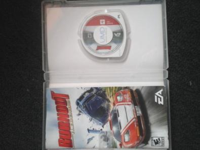 BURNOUT LEGENDS PSP trueque