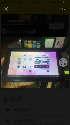 Tablet iview 7´ cyberpad trueque