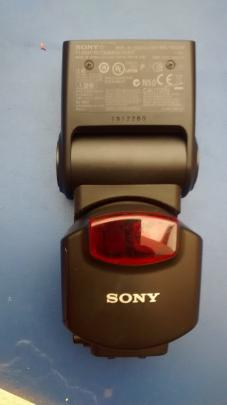 flash Sony alpha  trueque