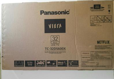 SMART TV panasonic viera tc-32ds600x trueque